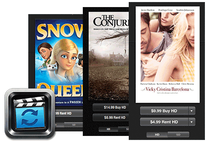 Convert purchased and rented iTunes movies